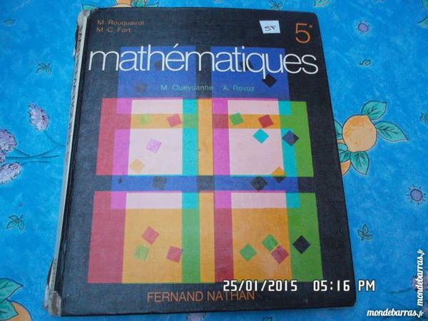 MATHEMATIQUES 5ème*KIKI60230 3 Chambly (60)