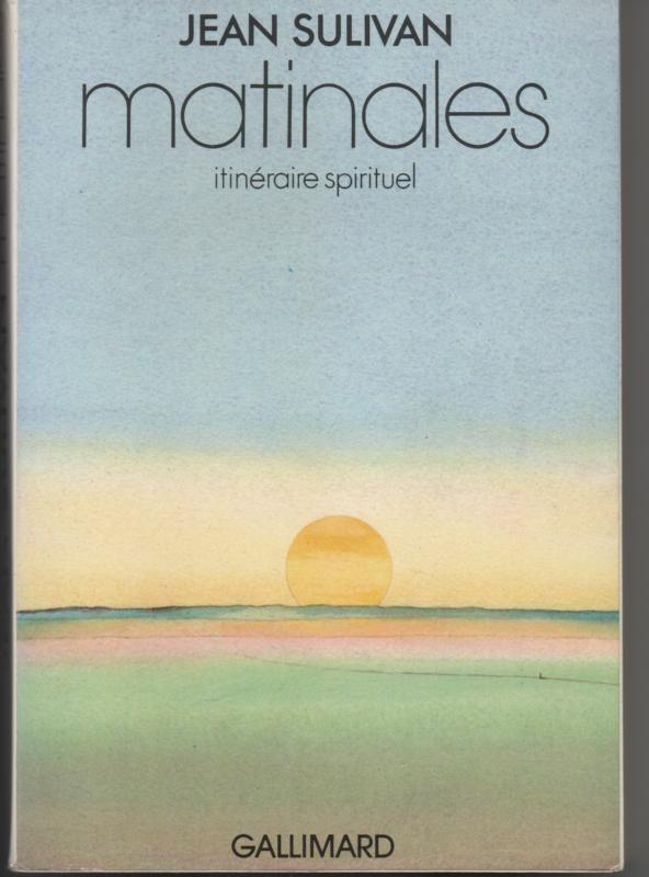 MATINALES itinéraire spirituel par Jean SULIVAN 7 Montauban (82)