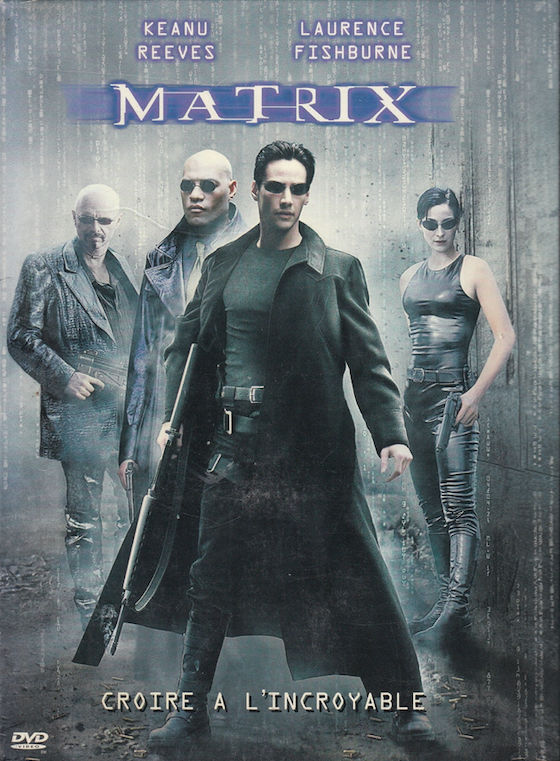 DVD    Matrix  (The Matrix)   -   Wachowski 3 Bagnolet (93)