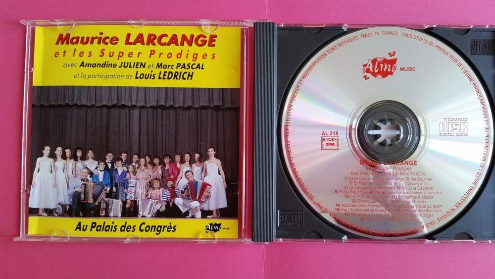 MAURICE LARCANGE CD et vinyles