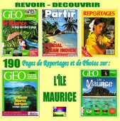 ÎLE MAURICE - géo - OCÉAN INDIEN / prixportcompris 17 Lille (59)