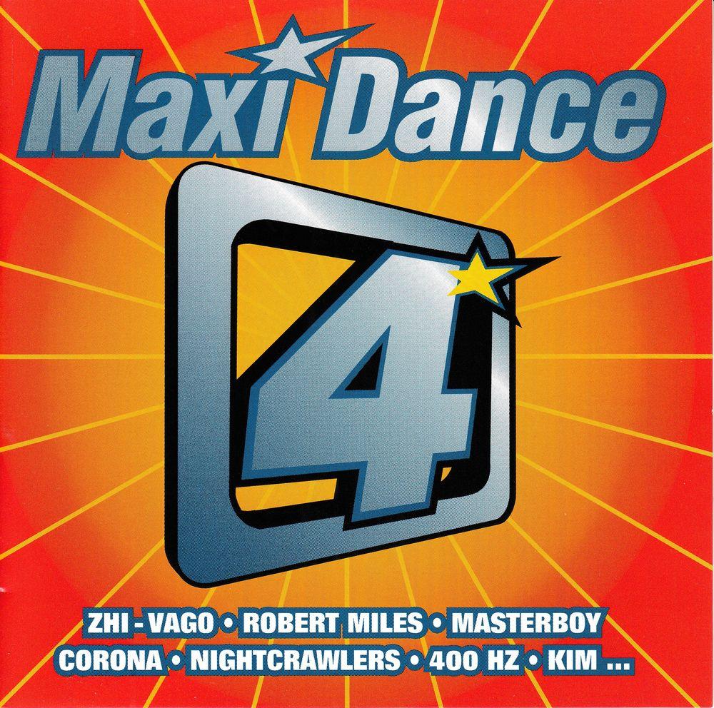 CD    Maxi Dance 4 4 Bagnolet (93)