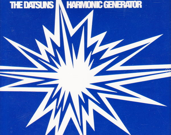 Maxi CD The Datsuns - Harmonic generator (bleu) 2 Aubin (12)