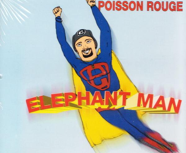 Maxi CD Poisson Rouge - Elephant man NEUF blister 2 Aubin (12)