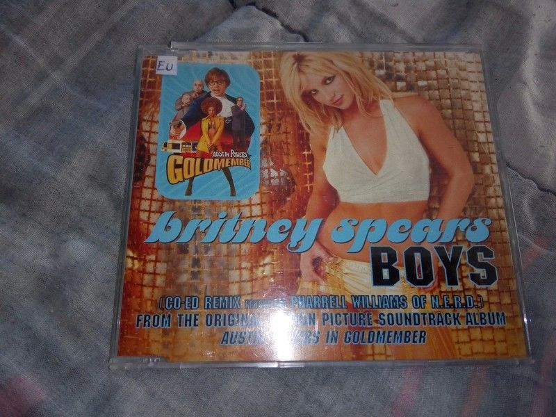 Maxi Single Britney Spears Boys 10 Hennebont (56)