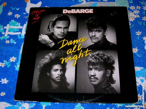 MAXI 45 TOURS DEBARGE SPECIAL 12  MIX Dance all night 18 Nantes (44)