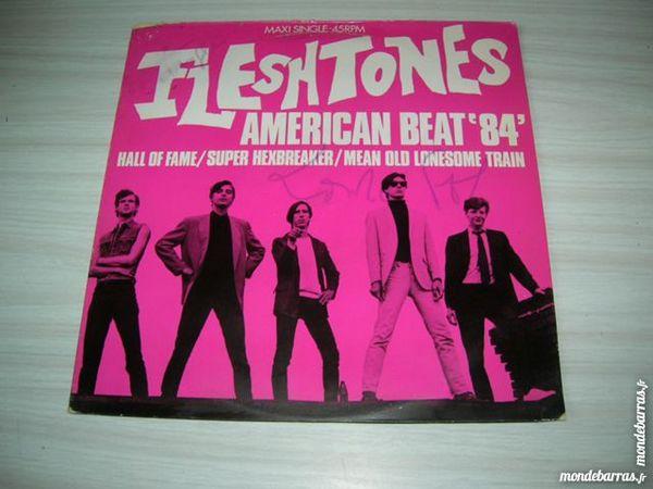 MAXI 45 TOURS FLESHTONES American beat '84  PROMO 12 Nantes (44)
