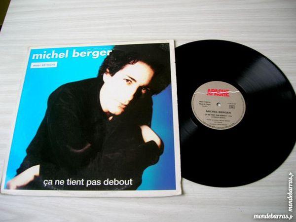 MAXI 45 TOURS MICHEL BERGER Ca ne tient pas debout CD et vinyles