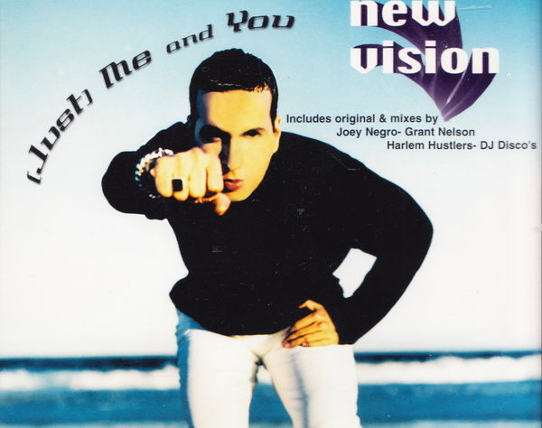 Maxi CD New Vision - (Just) Me and you NEUF blister 2 Aubin (12)