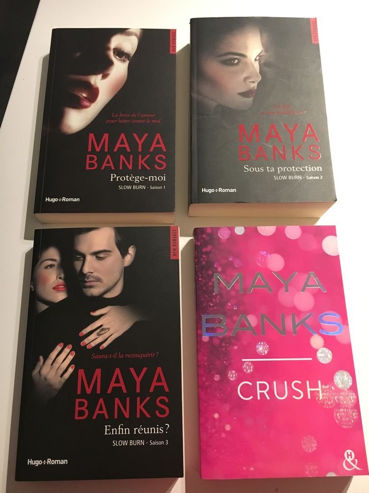 Maya Banks SLOW BURN  Amour/sentimental 30 Salouël (80)