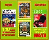LES MAYAS - revues - PRÉCOLOMBIENS 15 Paris 10 (75)