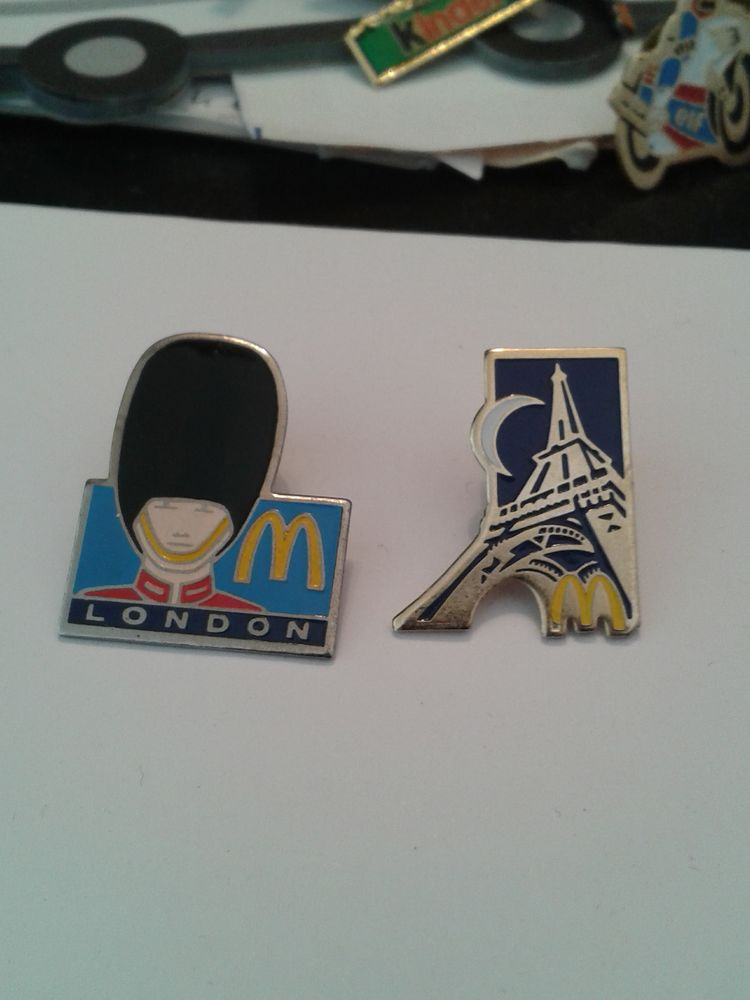 pin's Mcdonald 9 Le Cannet (06)