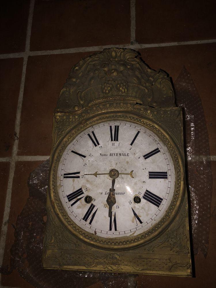 Mecanisme  d'horloge ancienne à restaurer 0 Allauch (13)