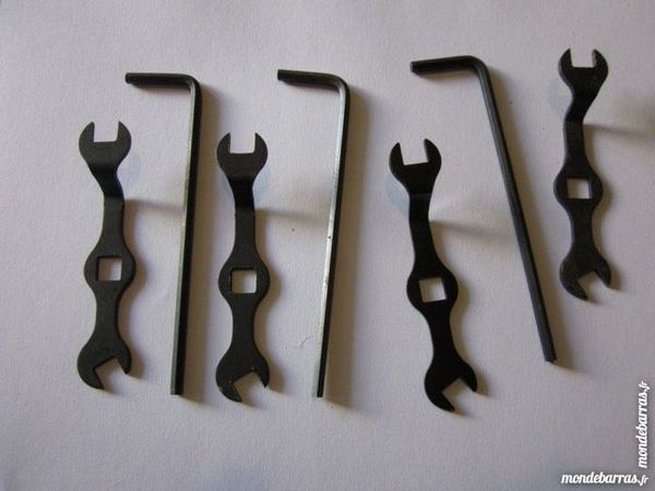 Meccano , lot de 7 clés 5 Montereau-Fault-Yonne (77)