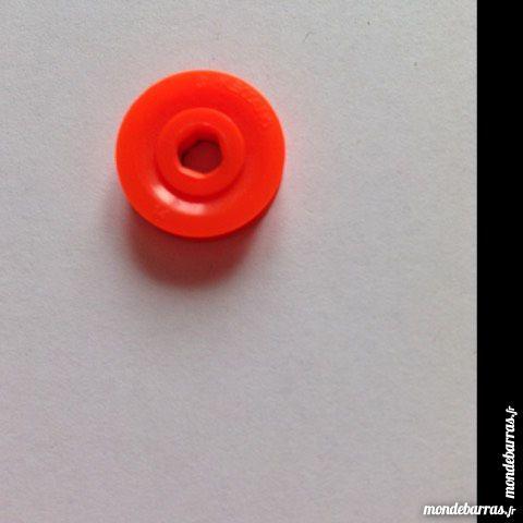 Meccano , lot de 5 poulies 12 mm plastiques orange 2 Montereau-Fault-Yonne (77)