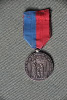 Médaille 1900 argent OSAP   S/ agents commémorative des PTT