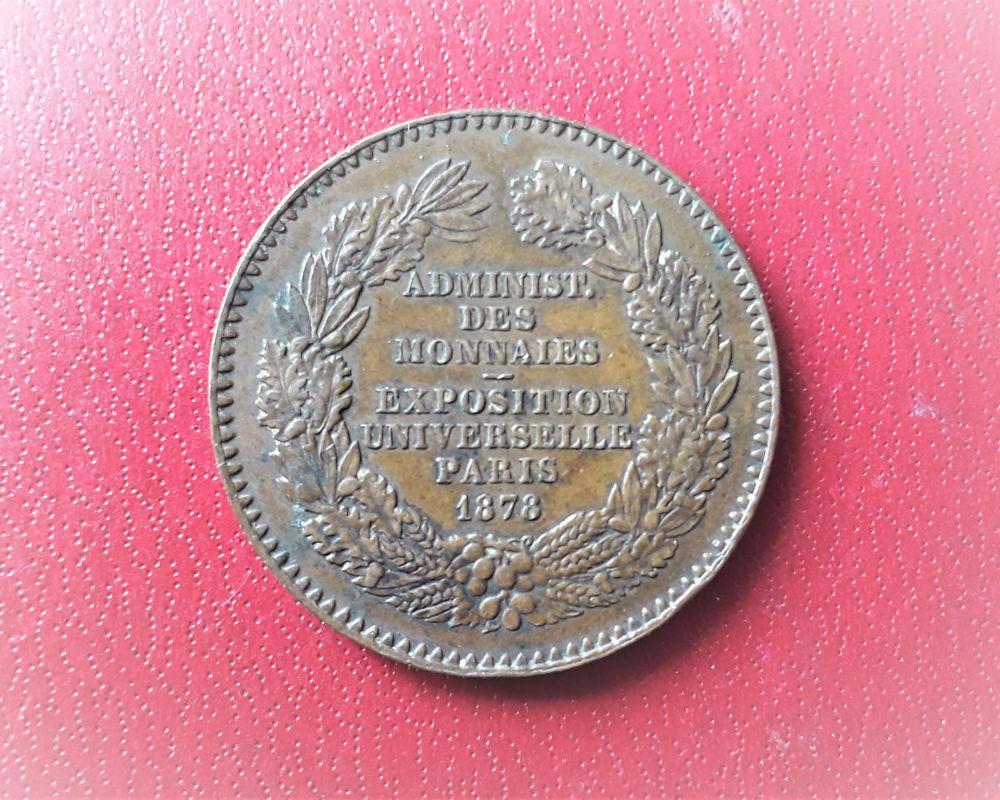 Médaille de l'administration des monnaies 1898 12 Saint-Jean-d'Angély (17)
