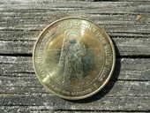 Médaille 40 è Anniversaire 1er Pas sur la Lune 14 Le Bouscat (33)