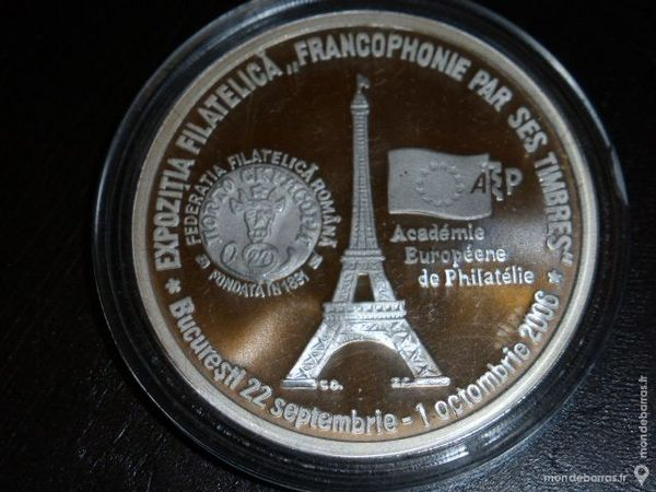 Médaille argent dans sa capsule d'origine 26 Bordeaux (33)
