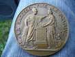 Médaille Banque de France en bronze 'La Sagesse'