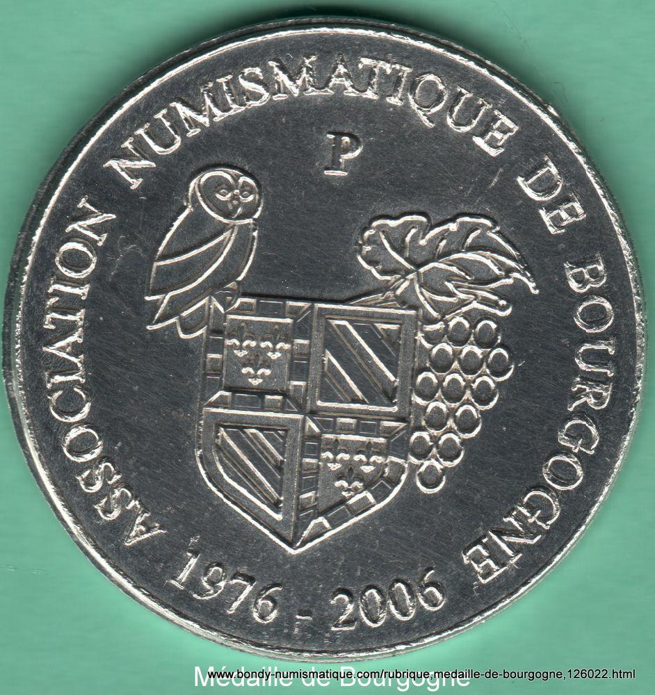 Médaille de Bourgogne Anniversaire des 30 ans de l´ANB 5 Dijon (21)