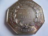 médaille braconnage  100 Haillicourt (62)