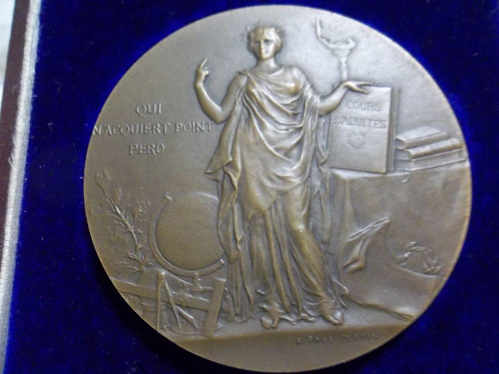 médaille bronze  1906 35 Haillicourt (62)