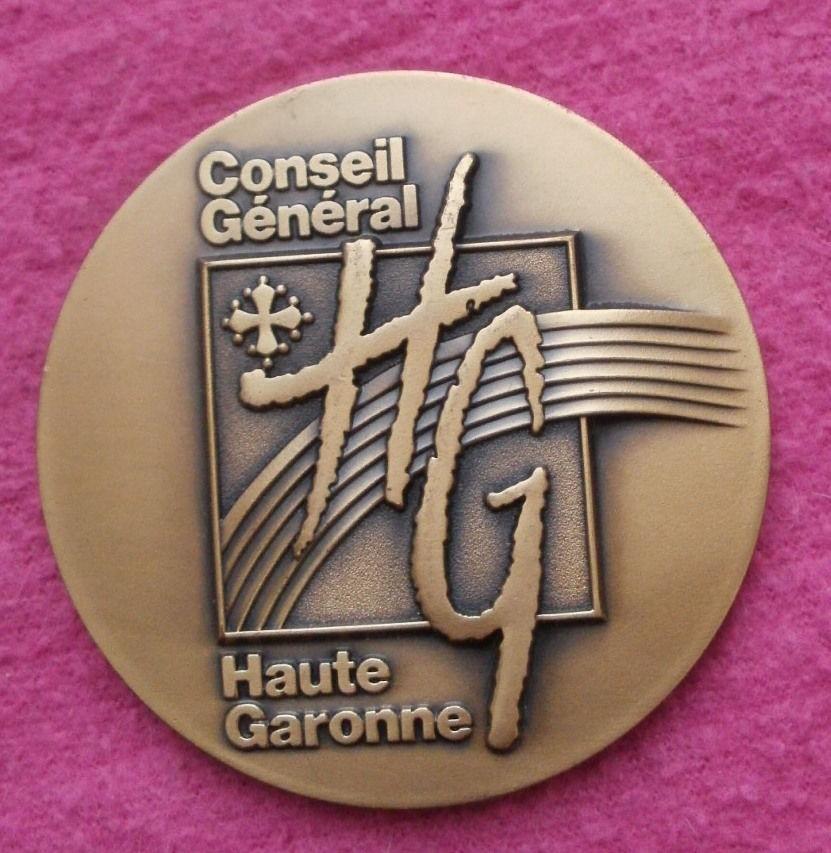 Medaille en bronze FL Conseil Général de la Haute Garonne  12 Montauban (82)