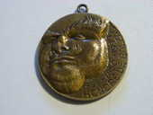 Médaille en bronze Honore DE BALZAC 1799-1850-1999  40 Lalande-de-Pomerol (33)