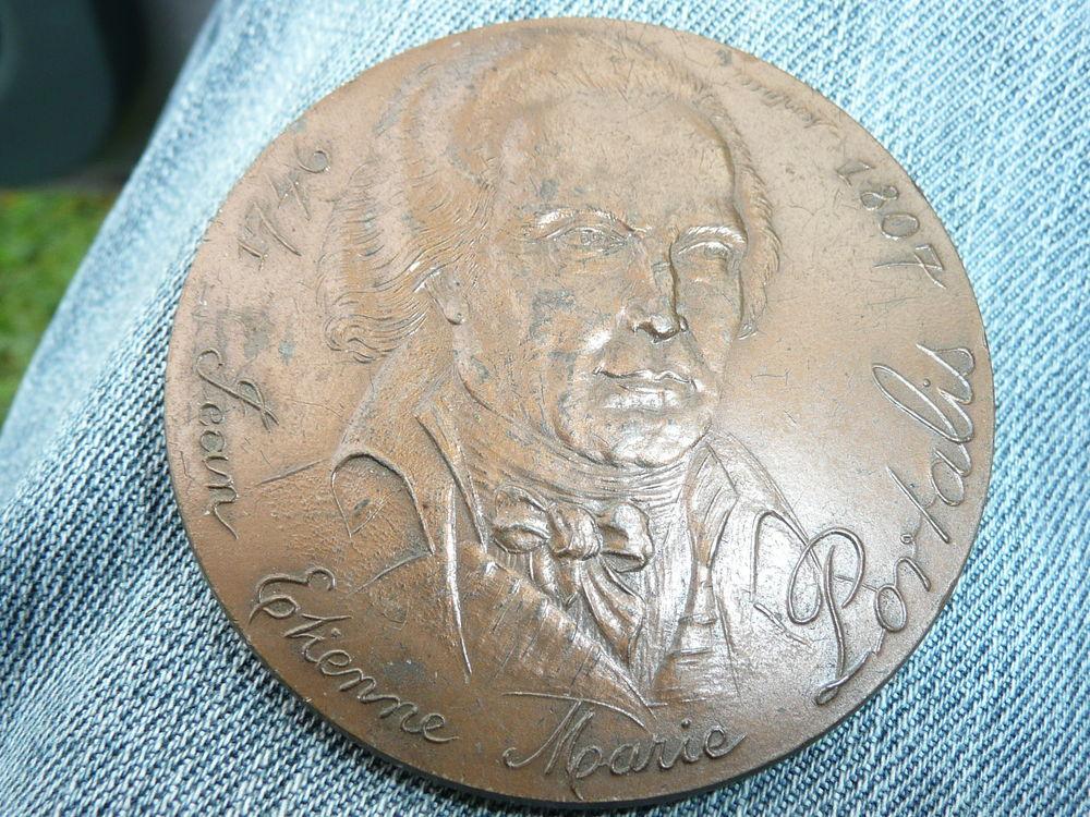 Médaille bronze Jean Étienne Marie Portalis 26 Bordeaux (33)