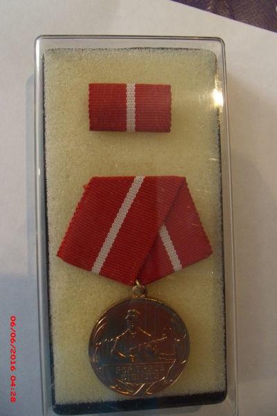 Médaille D D R bronze pour services fidèles 12 Le Luc (83)