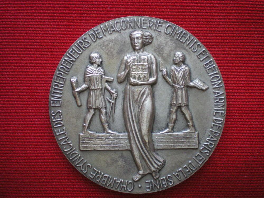 Médaille de la Chambre Syndicale des Ciments et Bétons. 30 Caen (14)