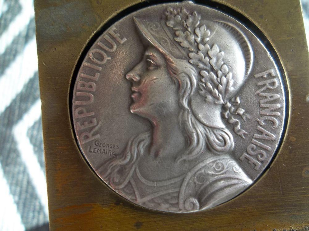 médaille coloniale  15 Haillicourt (62)