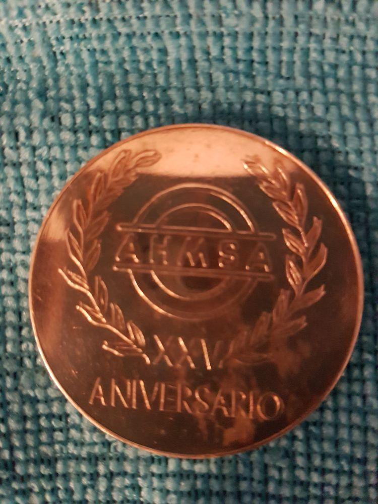 medaille commemorative 1968 en argent 50 Alès (30)
