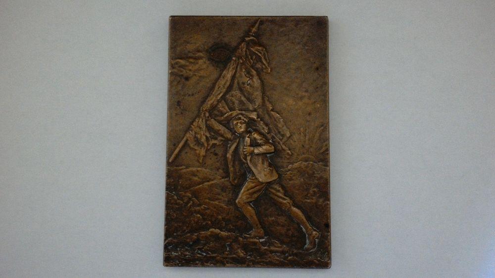 Medaille commémorative Bronze 1919 40 Vitry-sur-Seine (94)
