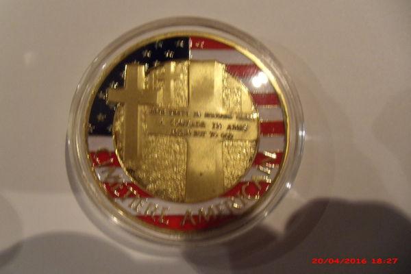 Médaille commémorative mémorial américain 15 Le Luc (83)