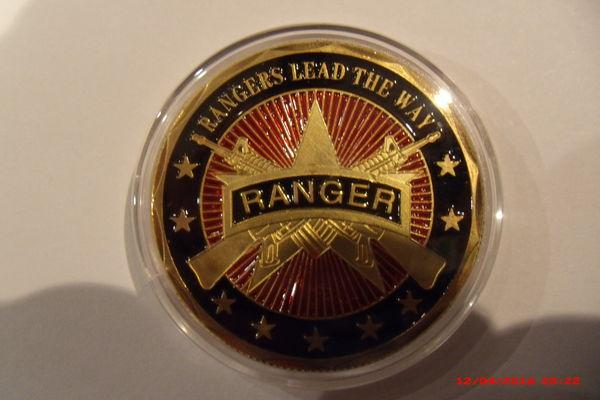 Médaille commémorative RANGERS US ARMY 1 10 Le Luc (83)