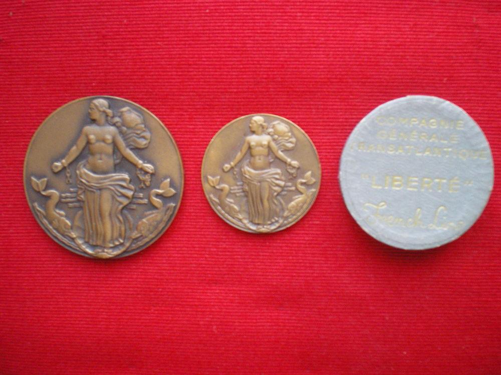Médaille de la Compagnie Générale Transatlantique. 45 Caen (14)