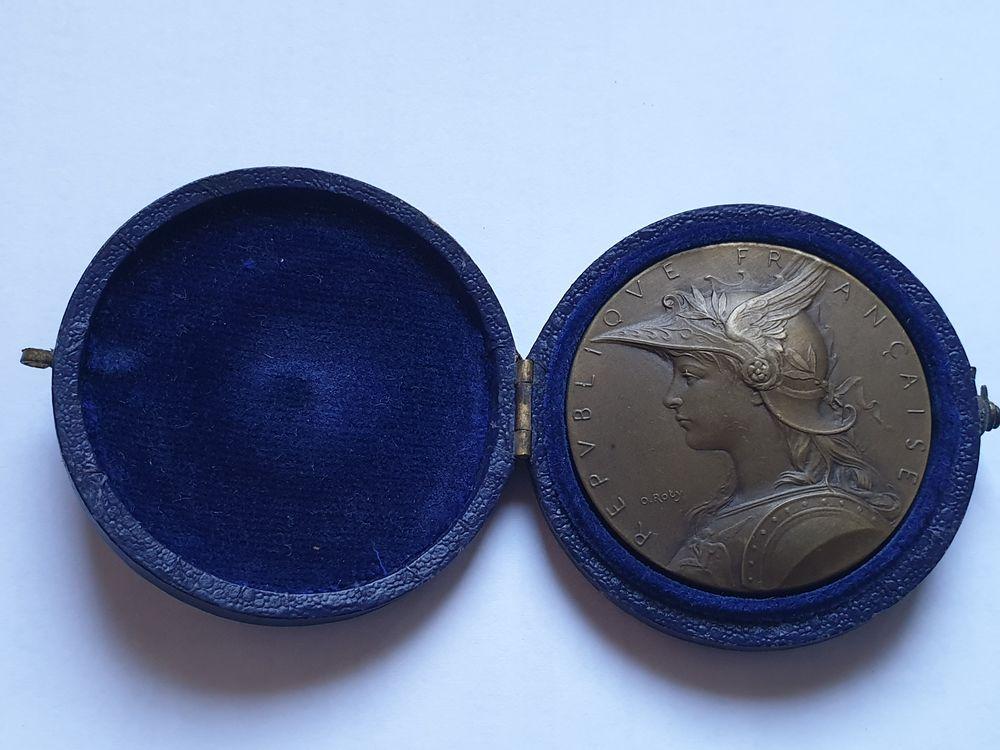 Médaille Cuivre dans son écrin d'origine velour