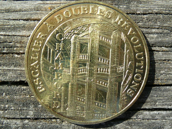 Médaille Escalier à doubles Volutions 2009 14 Le Bouscat (33)