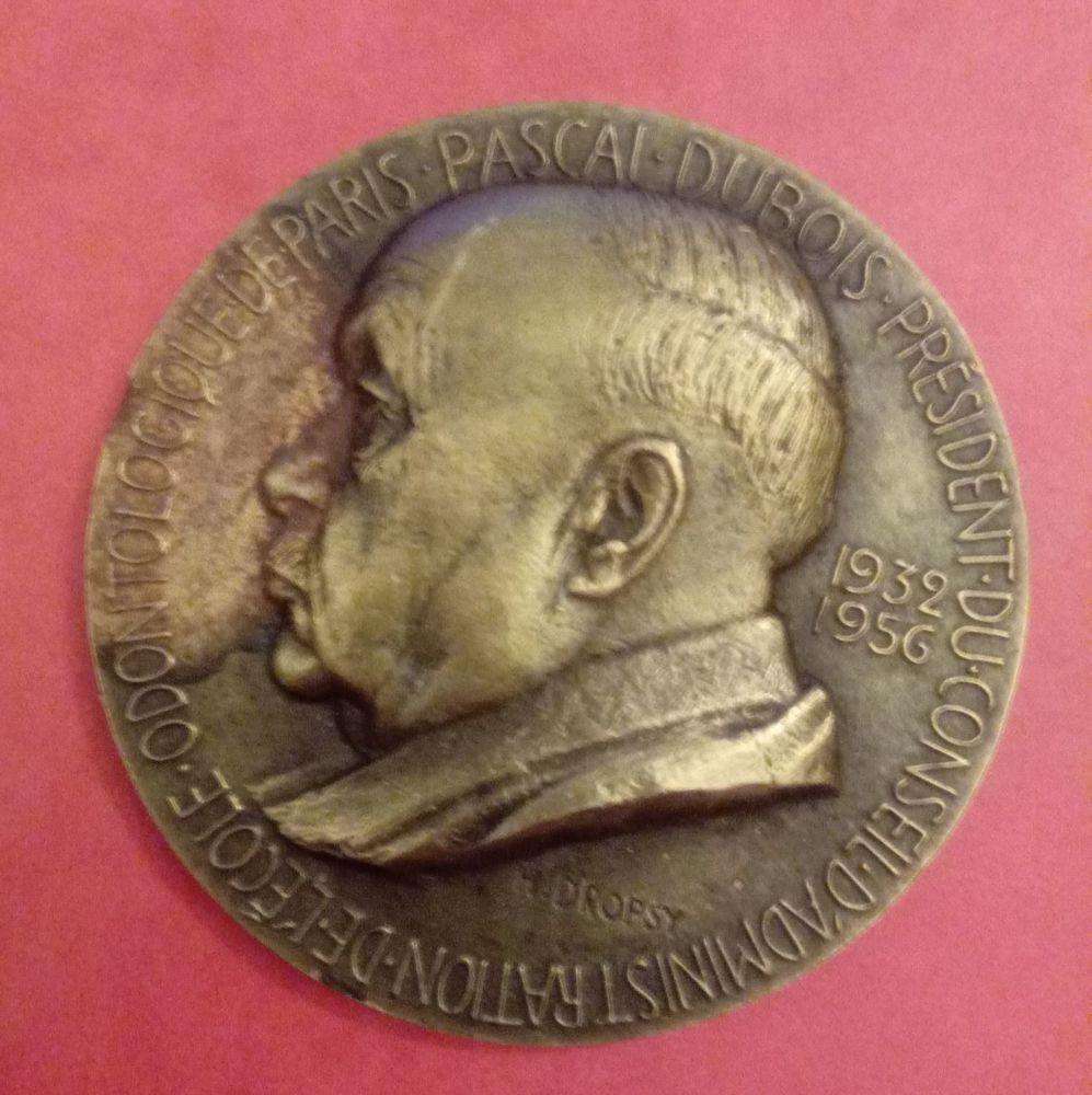 Médaille par Henri Dropsy  23 Olivet (45)