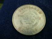 Médaille JUBILAEUM Lourdes A.D.2000 15 Bordeaux (33)