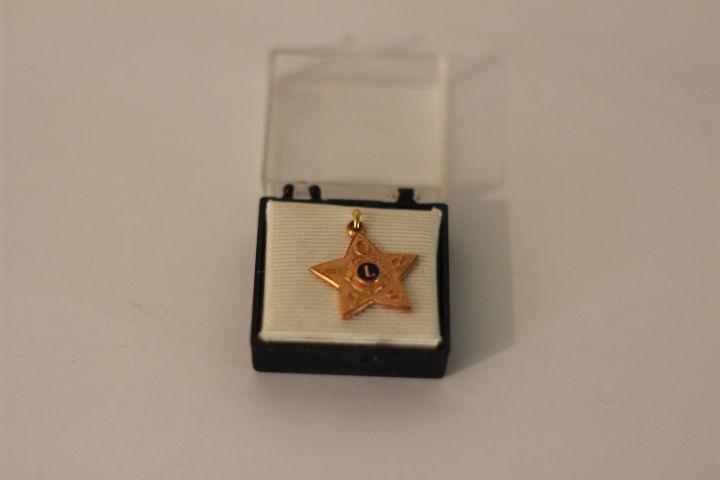 Médaille lions club 40 Liévin (62)