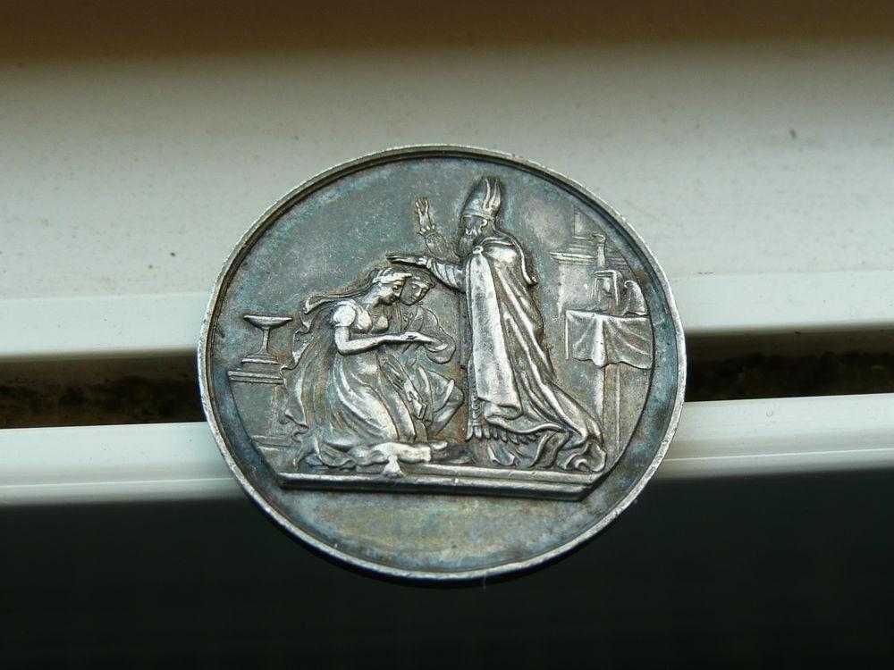 Médaille de mariage Argent massif juin1871 27 Bordeaux (33)