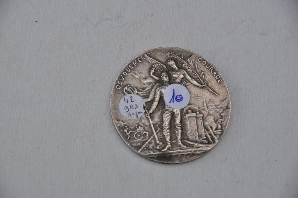 Médaille de pompier de la ville d'Épernay datée de 1891 25 Saint-Germain (10)