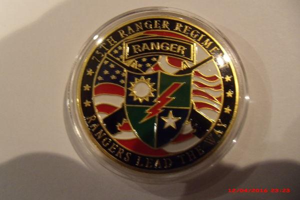 Médaille RANGERS US 2 10 Le Luc (83)