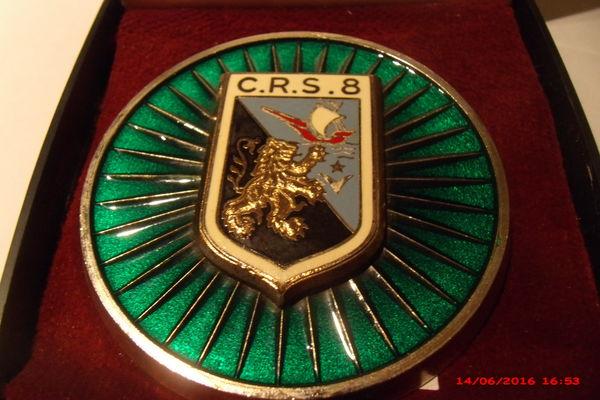 médaille de table C R S 8 19 Le Luc (83)