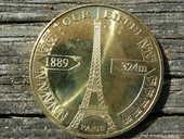 Médaille Tour Eiffel Paris 2008 11 Le Bouscat (33)