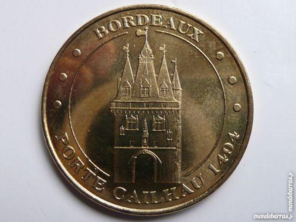 Médaille touristique Bordeaux porte Cailhau 1494
