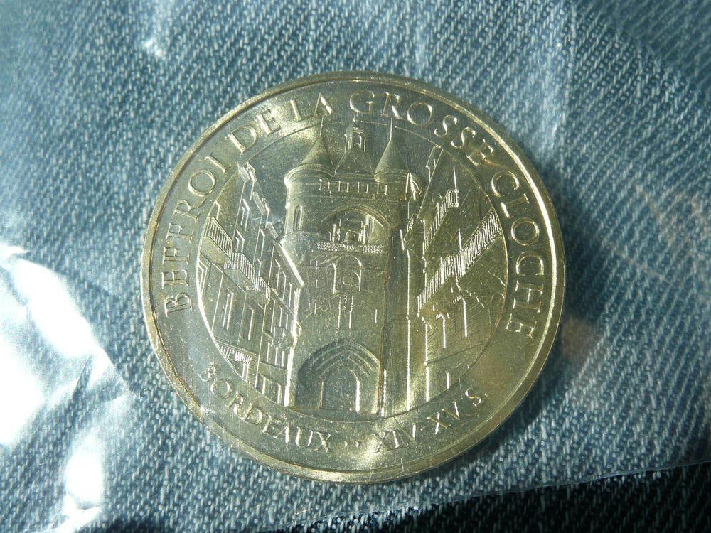 Médaille touristique Monnaie de Paris Beffroi Bx 4 Bordeaux (33)